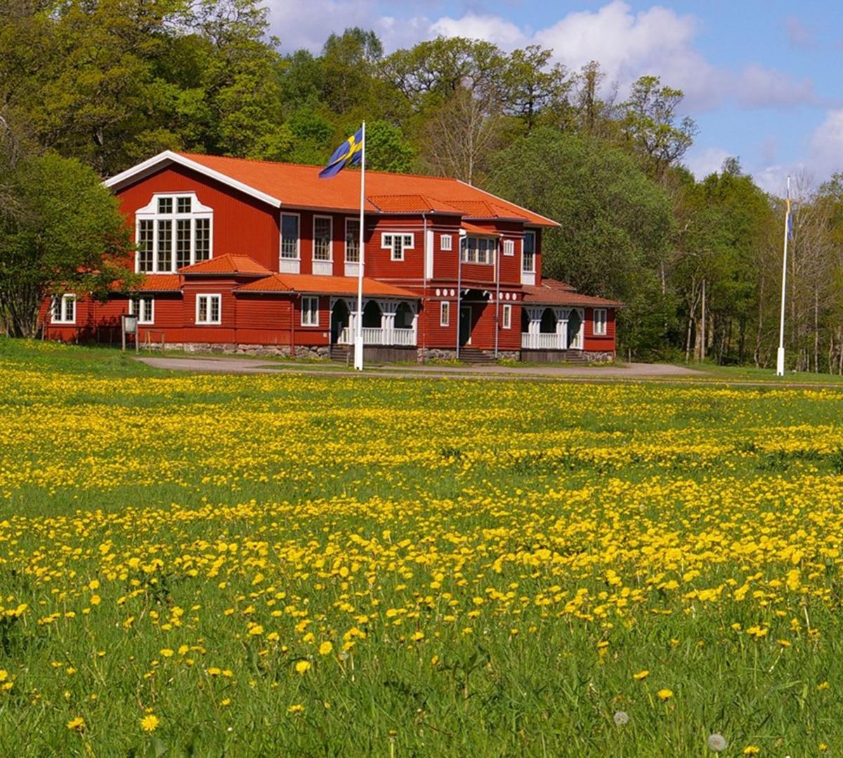 Nääs Slott, Lekhuset. Charmig festlokal för bröllop