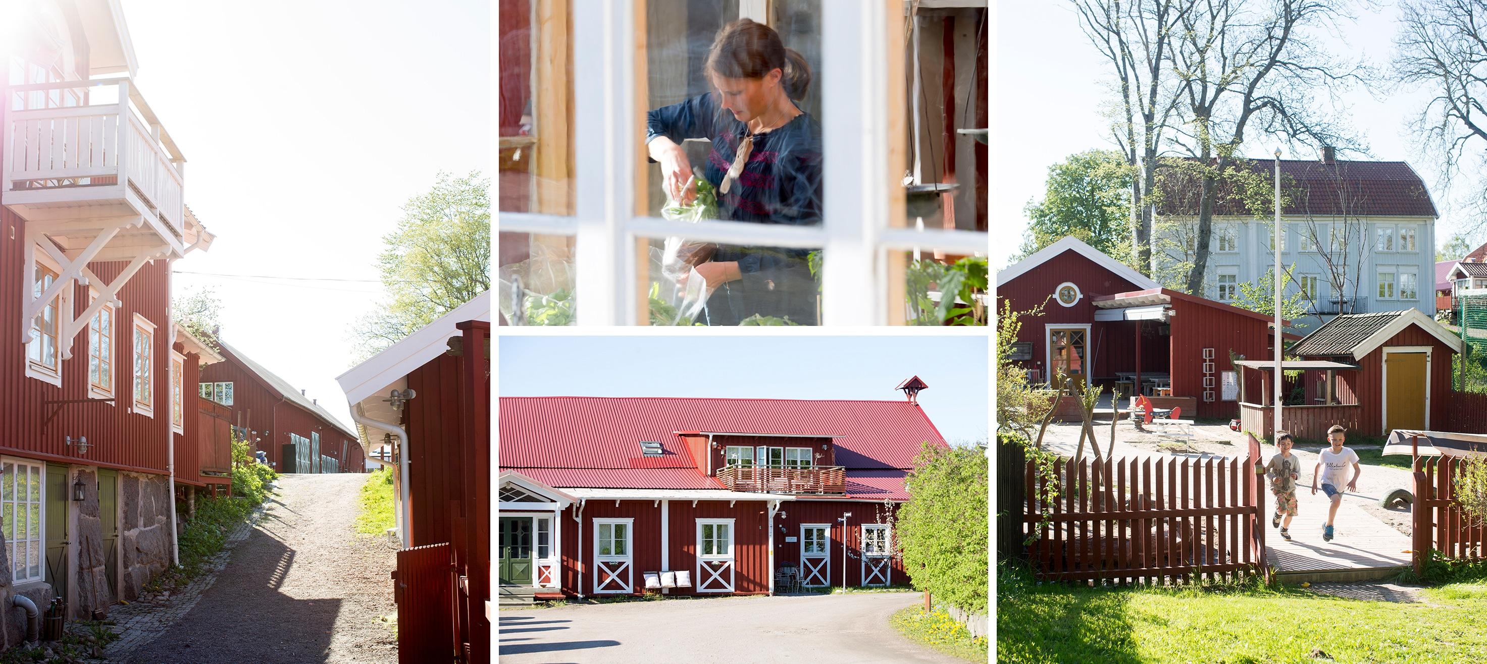 Festlokaler på Stora Holms Säteri