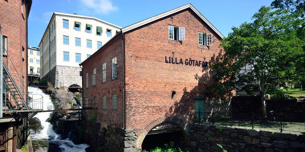 Lilla Götafors   Aquarelle